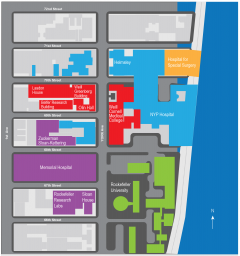 Weill Cornell Graduate School Map