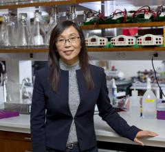 Dr. Li Gan in her lab